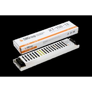 Ультратонкий блок питания в металлическом корпусе, IP20, 150W, 12V