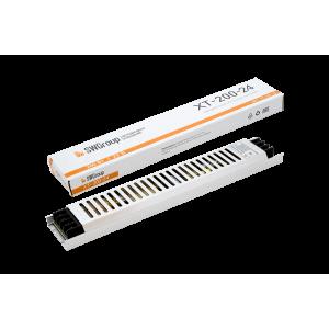 Ультратонкий блок питания в металлическом корпусе, IP20, 200W, 24V