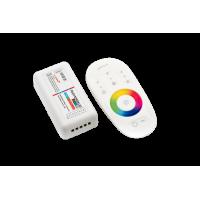 Контролер RGB+W2.4G сенсорный 4Ch*6A 12/24V Белый, RF-RGBW-S-24A