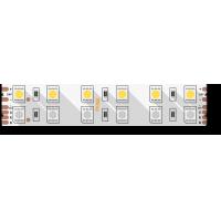 Лента светодиодная стандарт 5050, 120 LED/м, 28,8 Вт/м, 24В , IP20, Цвет: RGB + теплый белый