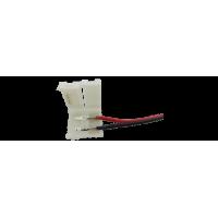 Коннектор для ленты 5050 для подключения к БП (ширина 10 мм,длина провода 15 см )