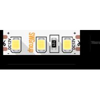 Лента светодиодная стандарт 2835, 120 LED/м, 12 Вт/м, 12В , IP20, Цвет: Теплый белый