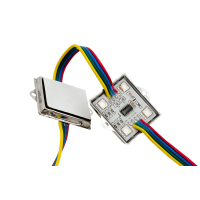 Модуль светодиодый SWG , 4LED, 0,96Вт, 12В, IP65, Цвет: RGB, провод 15см