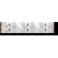 Лента светодиодная стандарт 5050, 120 LED/м, 28,8 Вт/м, 24В , IP20, Цвет: RGB