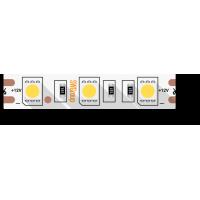 Лента светодиодная стандарт 5050, 60 LED/м, 14,4 Вт/м, 12В , IP20, Цвет: Холодный белый