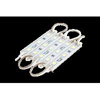 Модуль светодиодый SWG , 3LED, 0,72Вт, 12В, IP65, Цвет: 6000-6500 К Холодный белый, провод 15см