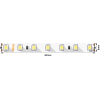 Лента светодиодная ПРО 2835, 84 LED/м, 8,6 Вт/м, 24В , IP20, Цвет: Теплый белый