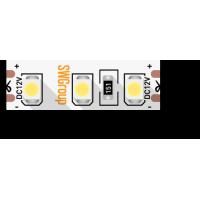 Лента светодиодная стандарт 3528, 120 LED/м, 9,6 Вт/м, 12В , IP20, Цвет: Желтый