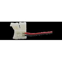 Коннектор для ленты 3528 для подключения к БП (ширина 8 мм,длина провода 15 см )