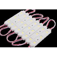 Модуль светодиодый SWG , 3LED, 0,72Вт, 12В, IP65, Цвет: 6000-6500 К Холодный белый, провод 9см