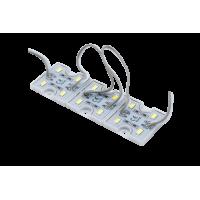 Модуль светодиодый SWG , 4LED, 0,8Вт, 12В, IP65, Цвет: 6000-6500 К Холодный белый, провод 15см
