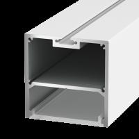 Подвесной/накладной алюминиевый профиль LS.5050, белый